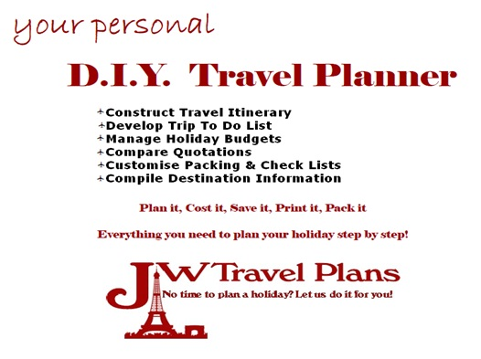 DIY Travel Planner App