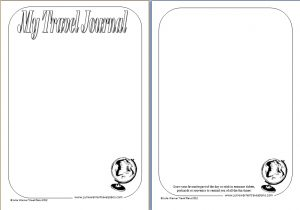 D.I.Y. Travel Journal