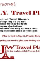 Travel Planner App (Windows PC App)